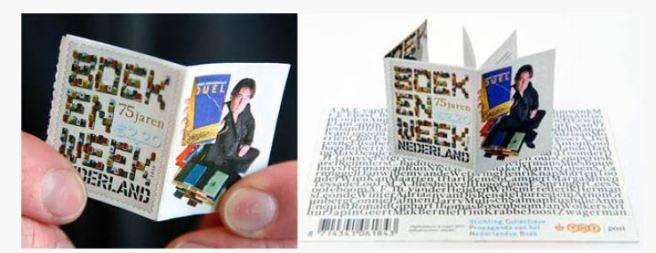 Pašto ženklas - knygutė
