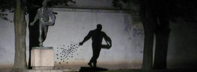 Morfai darbas _Seeder_ ir skulptura knygnesys Kaunas