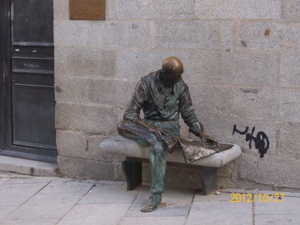 Madrido skaitytojas