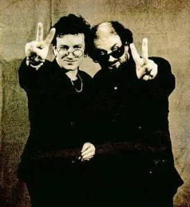 Rushdie ir Bono, susikeitę akiniais