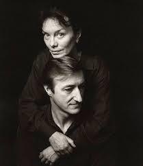 Julian Barnes su savo žmona Pat Kavanagh